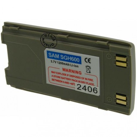 Batterie pour SAMSUNG SGH 600 brown 3.6V Li-Ion 1200mAh