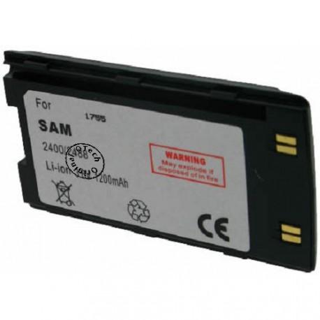 Batterie pour SAMSUNG SGH 2400 black 3.6V Li-Ion 1200mAh