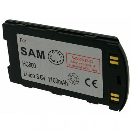 Batterie pour SAMSUNG SGH 800 slim 3.6V Li-Ion 1100mAh