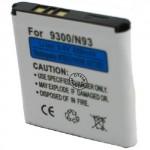 Batterie pour NOKIA 9300 / BP-6M / 6280 / N73 3.6V 1000mAh
