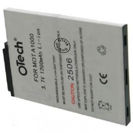 Batterie pour MOTOROLA A1000 3.6V Li-Ion 1200mAh