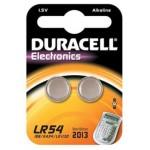 2 Piles bouton LR54 AG10 Alcaline 1.5V DURACELL