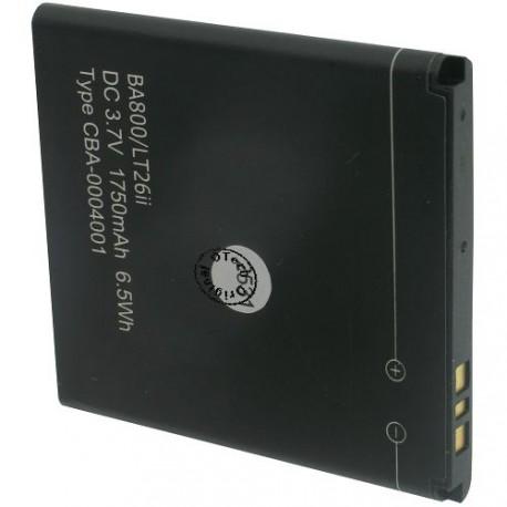 Batterie pour SONY BA800 / LT26i / XPERIA S 3.7V Li-Ion 1700 / 1750mAh
