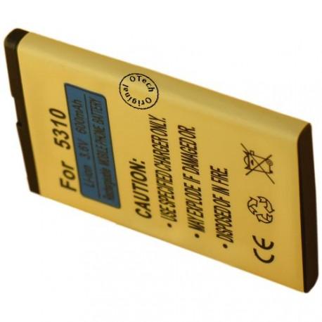 Batterie pour NOKIA BL-4CT 3.7V Li-Ion 900mAh