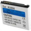 Batterie pour LG LGIP-580A 3.7V Li-Ion 1000mAh