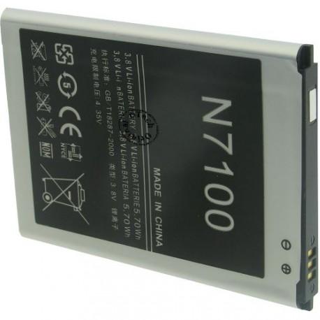 Batterie pour SAMSUNG Galaxy Note 2 / N7100 3.7V Li-Ion 3100mAh