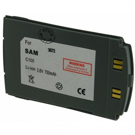Batterie pour SAMSUNG C100 3.6V Li-Ion 750mAh