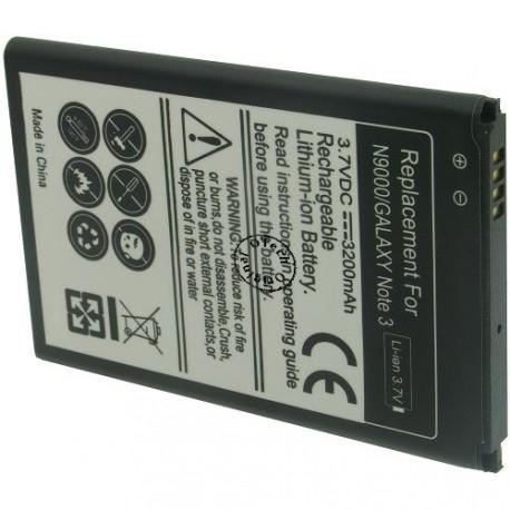 Batterie pour SAMSUNG N9005 3.7V Li-Ion 3200mAh