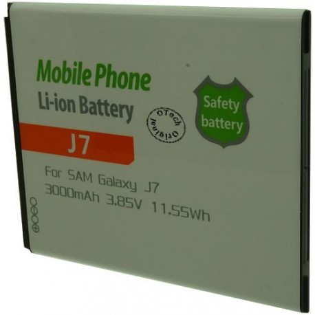 Batterie pour SAMSUNG J7 3.8V Li-Ion 3000mAh