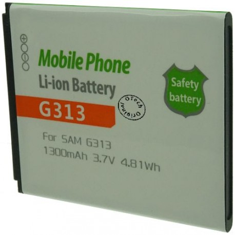 Batterie pour SAMSUNG G313 3.7V Li-Ion 1300mAh