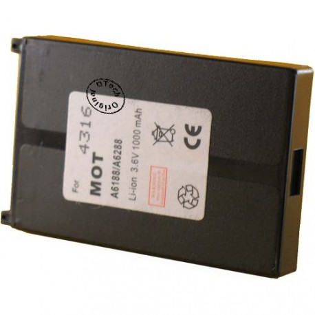Batterie pour MOTOROLA ACCOMPLI / A6188 3.7V Li-Ion 750mAh