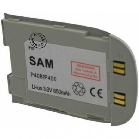 Batterie pour SAMSUNG P400 3.6V Li-Ion 850mAh