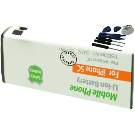 Batterie pour iPhone 5C 3.8V 1500mAh avec 8 outils