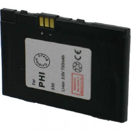 Batterie pour PHILIPS 330 3.6V Li-Ion 700mAh
