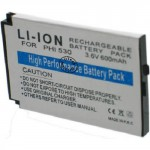 Batterie pour PHILIPS 350 / 530 / 535 3.6V Li-Ion 600mAh