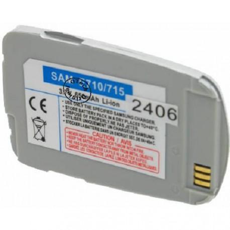 Batterie pour SAMSUNG E710 / E715 3.7V Li-Ion 650mAh