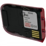 Batterie pour PHILIPS FISIO 820 / 822 / 825 red 3.6V Li-Ion 750mAh