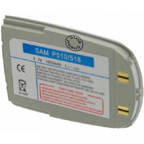 Batterie pour SAMSUNG P510 3.6V Li-Ion 1000mAh