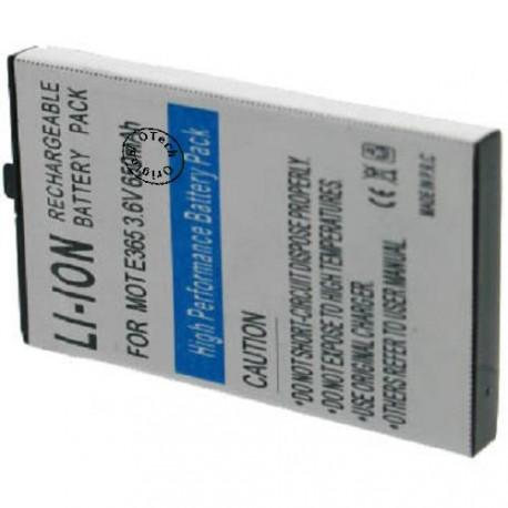 Batterie pour MOTOROLA E365 3.6V Li-Ion 650mAh