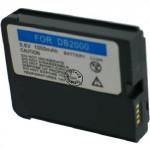 Batterie pour NEC DB2000 3.6V Li-Ion 1250mAh