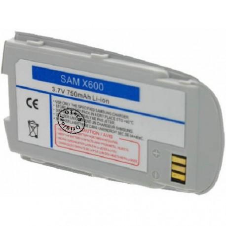 Batterie pour SAMSUNG X600 3.7V Li-Ion 750mAh