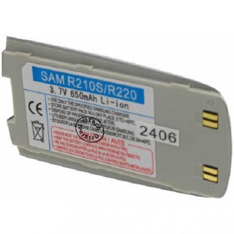 Batterie pour SAMSUNG R210 / R220 silver 3.7V Li-Ion 850mAh