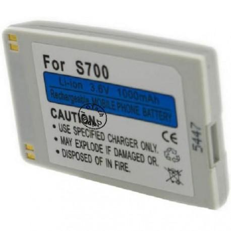 Batterie pour BENQ S700 silver 3.6V Li-Ion 1000mAh