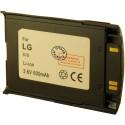 Batterie pour LG 510W grey 3.6V Li-Ion 900mAh