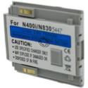 Batterie pour NEC 400i / 830 silver 3.6V Li-Ion 750mAh