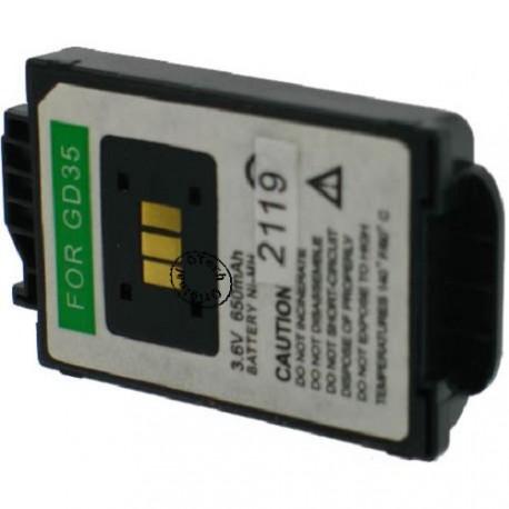 Batterie pour PANASONIC GD35 3.6V Ni-Mh 650mAh