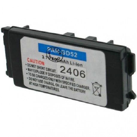 Batterie pour PANASONIC GD52 3.7V Li-Ion 600mAh