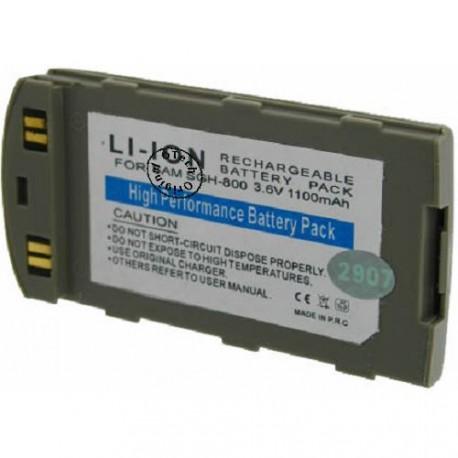 Batterie pour SAMSUNG sCH-s800 (SGH 800) Grey 3.6V Li-Ion 1100mAh