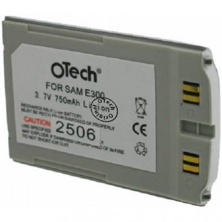 Batterie pour SAMSUNG E300-N Silver 3.6V Li-Ion 800mAh
