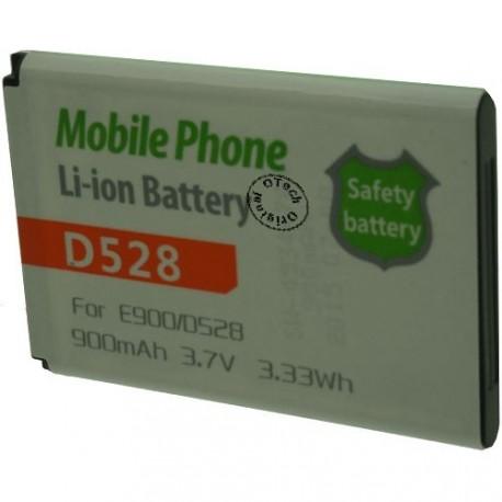 Batterie pour SAMSUNG D528 / E900 3.7V Li-Ion 900mAh