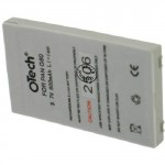Batterie pour PANASONIC G60 3.6V Li-Ion 700mAh