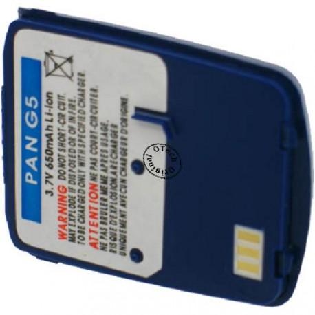 Batterie pour PANASONIC G5 / G51 blue 3.7V li-Ion 650mAh