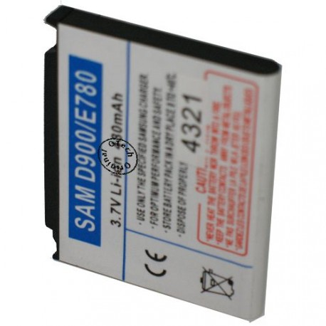 Batterie pour SAMSUNG D900 / E788 / AB503442CA 3.7V Li-Ion 800mAh