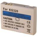 Batterie pour LG KG320 3.6V Li-Ion 500mAh