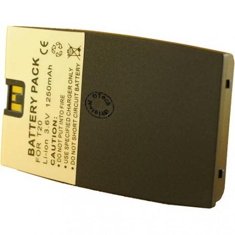 Batterie pour ERICSSON T20S no cover 3.6V Li-Ion 1200mAh