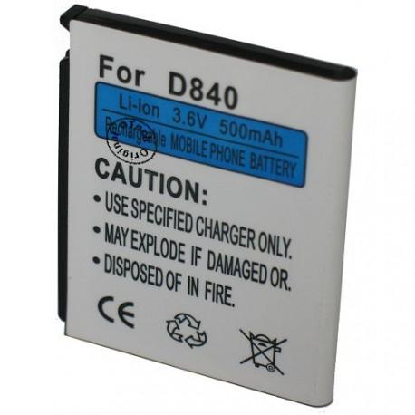 Batterie pour SAMSUNG D840 3.7V Li-Ion 700mAh