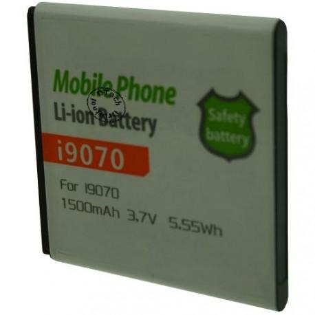 Batterie pour SAMSUNG I9070 3.7V Li-Ion 1500mAh