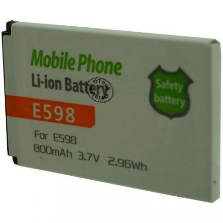 Batterie pour SAMSUNG E598 3.7V Li-Ion 800mAh