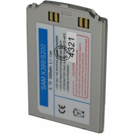 Batterie pour SAMSUNG X399 / S200 silver 3.7V Li-Ion 500mAh