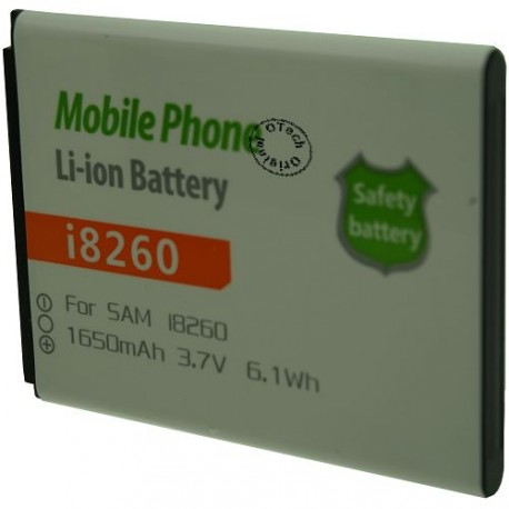 Batterie pour SAMSUNG i8260 3.7V Li-Ion 1650mAh