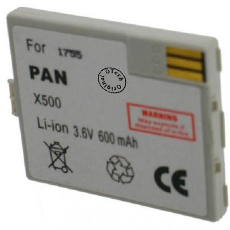 Batterie pour PANASONIC X500 / X100 3.6V Li-Ion 500mAh