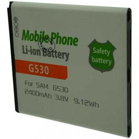Batterie pour SAMSUNG G530 3.8V Li-Ion 2400mAh