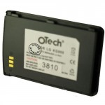 Batterie pour LG KG800 / 0670528462040 black 3.7V Li-Ion 600mAh