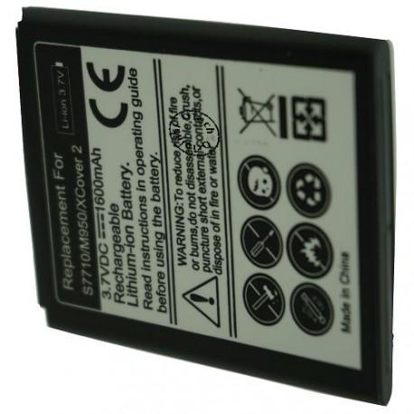 Batterie pour SAMSUNG S7710 3.7V 1100mAh