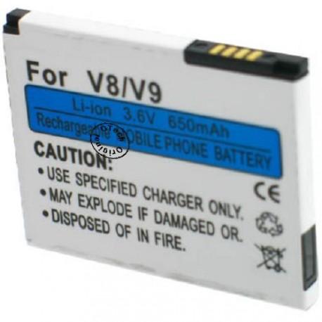 Batterie pour MOTOROLA V8 3.7V Li-Ion 850mAh