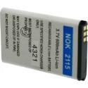 Batterie pour NOKIA 2115 3.7V Li-Ion 600mAh